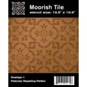 Faux Like A Pro 4031 Moorish Tile Wall Stencil