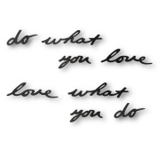 Do What You Love, Love What You Do Wall Decor by Umbra