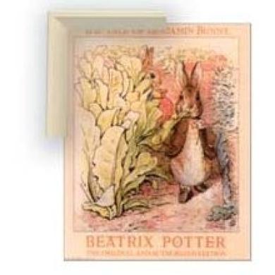 Art4kids 28002 Beatrix potter:bunnies in Garden, Contemporary Mount