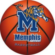 Fathead Memphis Tigers Basketball Logo Wall Graphic