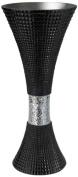 Ore International Urban Trend Black Polyresin Vase