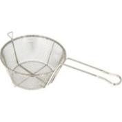 Round Wire Fry Basket, 21.6cm x 10.8cm , 6 Mesh