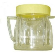 Goodmans 090 240ml Mini Jar with Lid for Oster & Osterizer Blenders