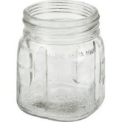 8 oz Glass Mini Jar with Lid for Oster & Osterizer Blenders 095GL