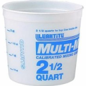 Leaktite 5M3 Mixing and Storage Container, 2.4l Mixing Container