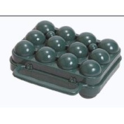 Stansport 266 Egg Container, 12 Eggs Egg Container, 12 Eggs