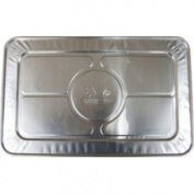 Bakers & Chefs Steam Table Aluminium Foil Lid - Full Size - 15 CT. -