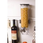 Zevro WM100 SmartSpace Single Canister Wall Mount Dry Food Dispenser