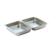 Smart Buffet Ware Oblong 1 / 2 Stainless Steel Food Pan 1A11102
