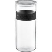 Bodum Presso 2510ml Glass Storage Jar with Silicone Band in Black