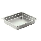 Smart Buffet Ware Oblong 2 / 3 Stainless Steel Food Pan 1A11104