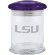 LSU Tigers 350ml Small Candy Jar with Satin Etch Logo Boelter
