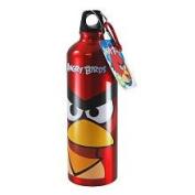 Angry Birds 710ml Aluminium Water Bottle with Caribiner