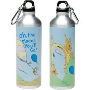 Dr. Seuss.Oh! The Places Youll Go! Stainless Steel Water Bottle, 710ml, Multi-coloured