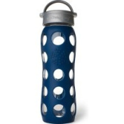 Lifefactory Midnight Blue Glass Beverage Bottle 650ml Bottle