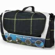 Camco RV Picnic Blanket, 130cm x 150cm , Black/Yellow 42800