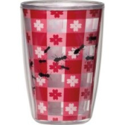 Picnic Party Acrylic 470ml Insulated Tumbler, Set of 4