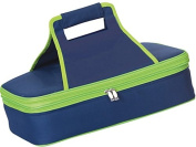 Picnic Plus PSM-721N Entertainer Hot and Cold Food Carrier in Navy