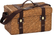 Picnic Plus PSB-262 Woodstock Picnic Basket for 2 Person in Fern