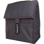 PackIt Freezable Lunch Bag Grey One-size