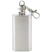 Maxam 2oz Stainless Steel Keychain Flask - KTFLKC2
