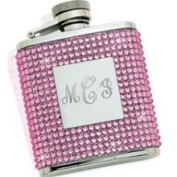 Creative Gifts International 021011 Pink Crystal Flask
