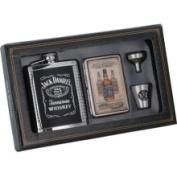 Jack Daniels Licenced Barware Jack Daniel's Flask/case/shot/funnel Gift Set