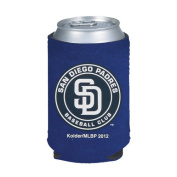 San Diego Padres Navy Blue Collapsible Can Koozie