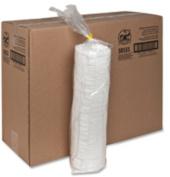 Genuine Joe GJO58555 Lids- for Foam Cups- 12-16 oz.- 1000-CT- White