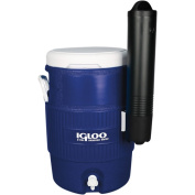 Igloo Beverage Cooler 18.9lSeat Top with Cup Dispenser, Majestic Blue