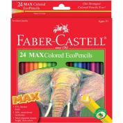 Premium Quality 24 Max Coloured EcoPencils Arts & Crafts