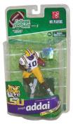 McFarlane Toys NCAA COLLEGE Football Sports Picks Series 3 Action Figure Joseph Addai (LSU Tigers) White Jersey