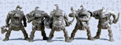 Orcs Fantasy Monsters, 5 Toy Soldiers