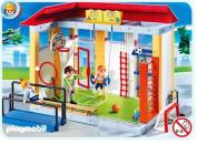 Playmobil School House Sports Gym Play Set