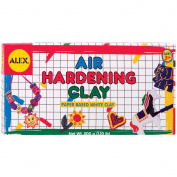 Alex Toys 467145 Air Hardening Clay 1 Pound-Pkg-White