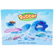 BUBBER - Unique Modelling Compound that NEVER dries out!! 440ml Box of Blue Bubber