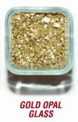 SANDTASTIK PRODUCTS INC. ICE20LBGOLD 9.1kg. BOX OF GOLD OPAL GLASS