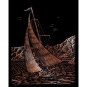 2 Royal and Langnickel Copper Foil Engraving Art Kits - Sailing-