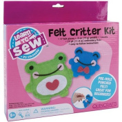 Learn to Sew Felt Critters Kit