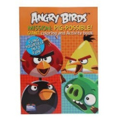 Angry Birds Mission Giant Colouring and Activity Book