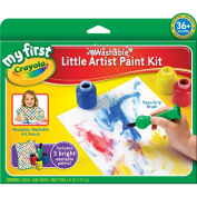 My First Crayola Washable Little Artist Paint Kit