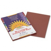 Construction Paper, 26kg., 9 x 12, Dark Brown, 50 Sheets/Pack