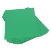 Construction Paper, 46cm x60cm , Festive Green, 50/Pk PAC103070