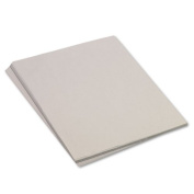 Peacock Sulphite Construction Paper, 18 x 24, Pearl Grey, 50-Sheet Pack - Sold By the Pack