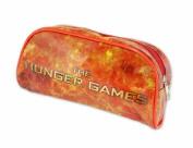 Hunger Games Orange Flames Pencil Case