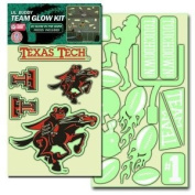Texas Tech Red Raiders Lil' Buddy Glow In The Dark Decal Kit