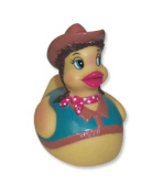 Cowgirl Rubber Duck