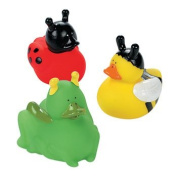 Insect Rubber Duckies - Novelty Toys & Rubber Duckies
