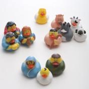 Nativity Rubber Duckies