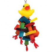 Happy Beaks Rubber Duck Bird Toy